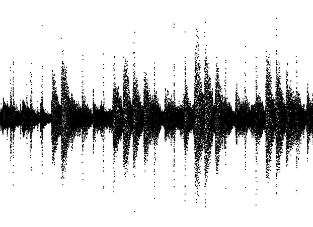Forma de Onda de fragmento musical